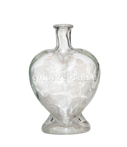 Бутылка для песочной церемонии Сердце (Россия)