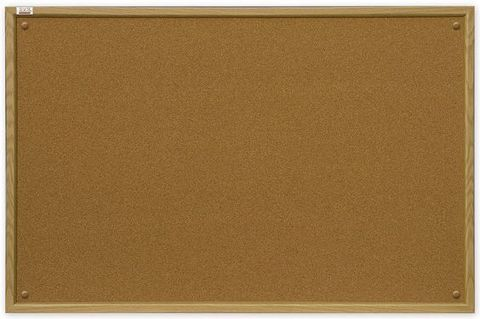 Пробковая доска 2x3 180x120 (TC1218) с деревянной рамкой