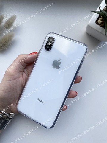 Чехол iPhone XS Simple pure /transparent/ 445
