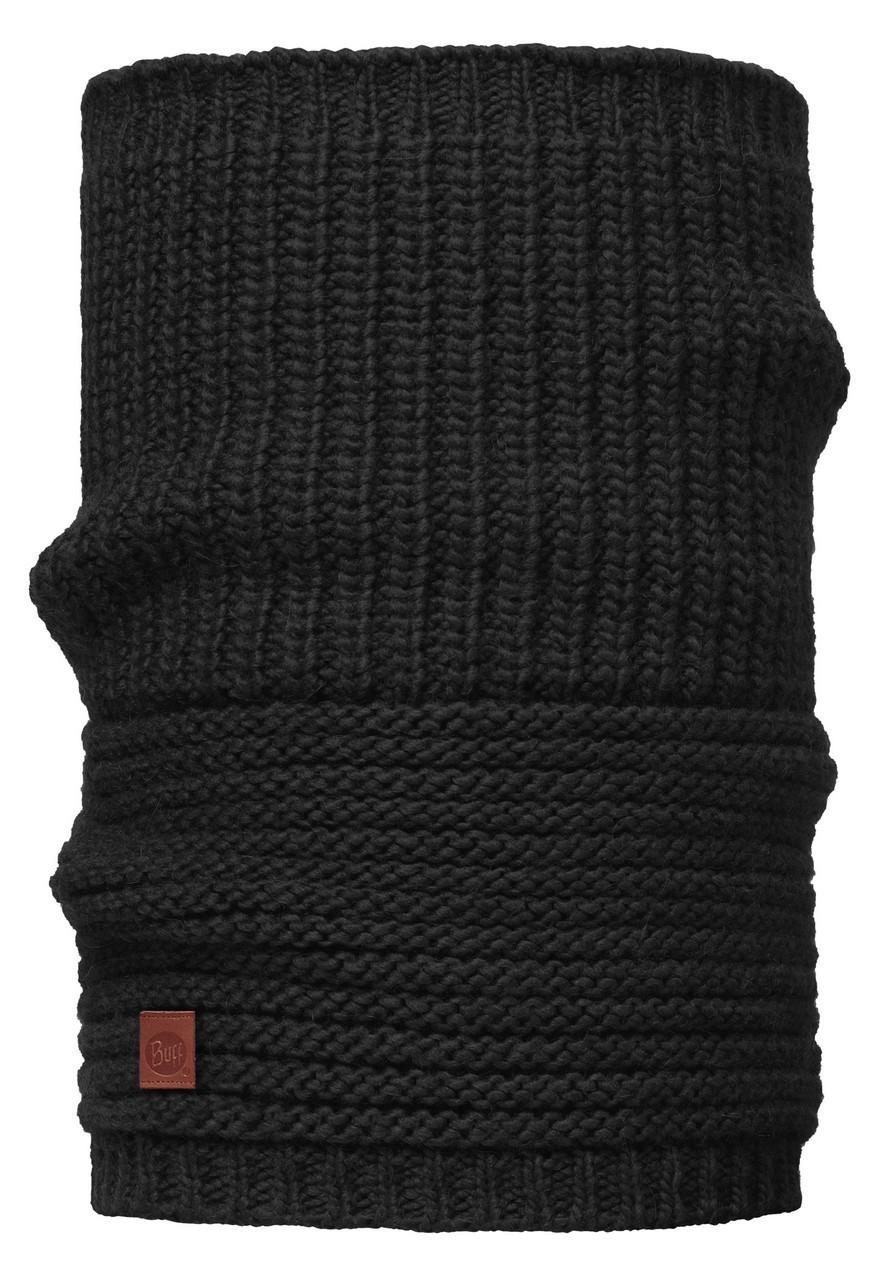 Вязаный шарф-труба Buff Collar Gribling Black