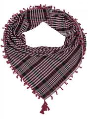 SH1882-1-2 платок, бордовый