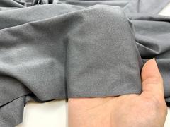 Микрофибра темно-серая бархатистая Lauma