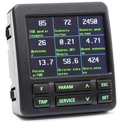 Бopтовой компьютер Multitronics C-580 для автомобилей Газ/Уаз