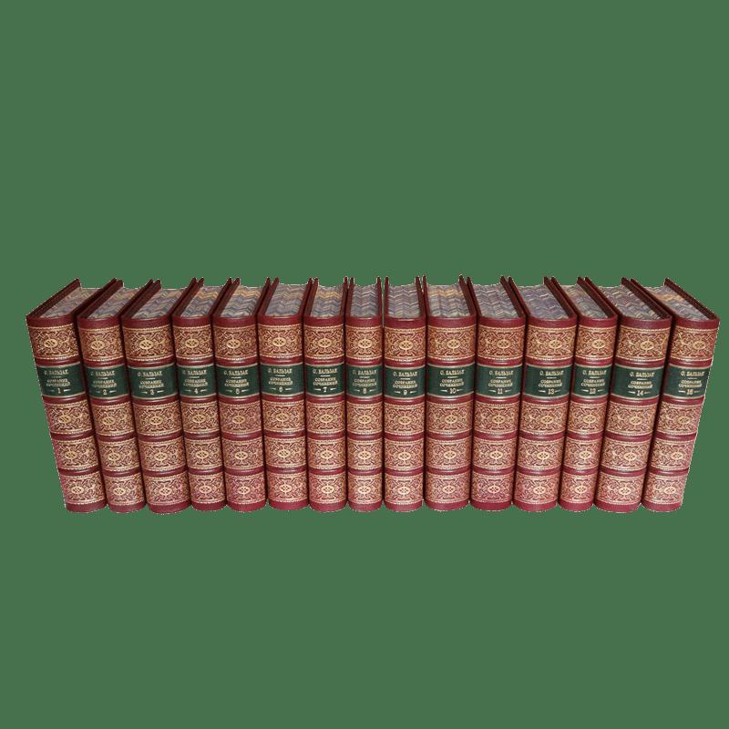 Бальзак О. Собрание сочинений в 15 томах