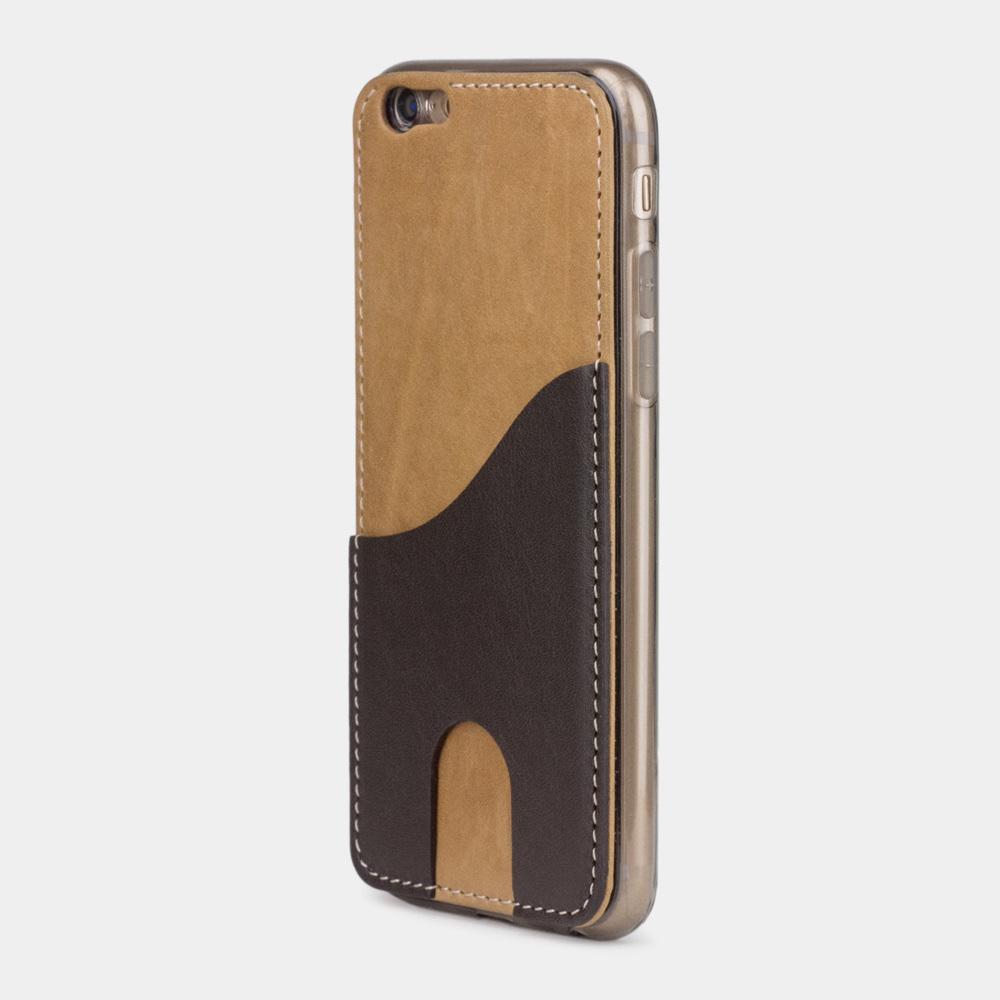 Чехол-накладка Andre для iPhone 6/6S из натуральной кожи теленка, цвета винтаж