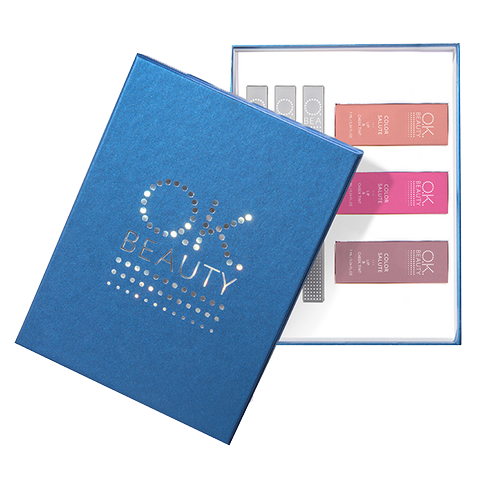 Подарочный набор OK Beauty Party Star NEW in BLUE