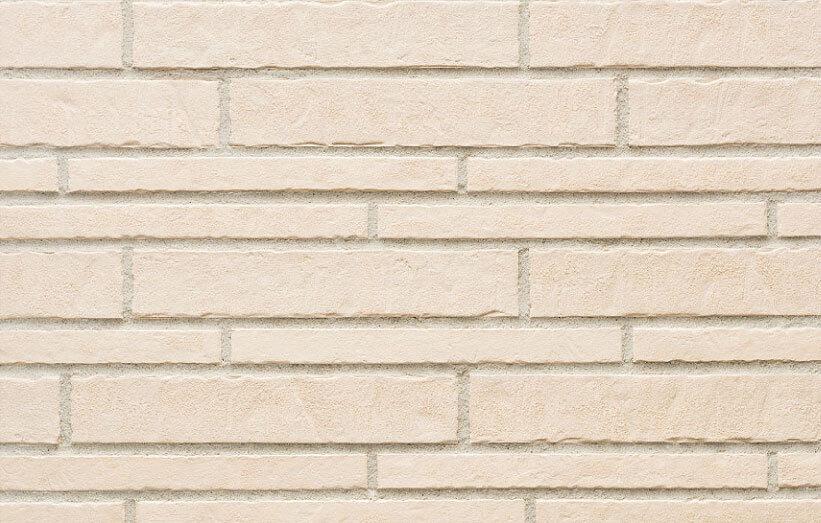 Stroeher, фасадная клинкерная плитка, цвет 351 kalkbrand, серия Zeitlos, состаренная поверхность, ручная формовка, 400x71x14