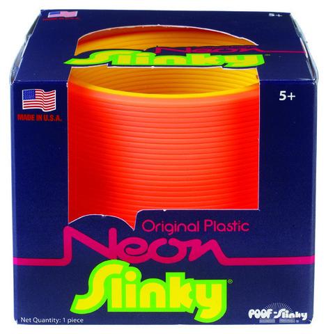 Слинки Неон - 2х-цветная пружинка