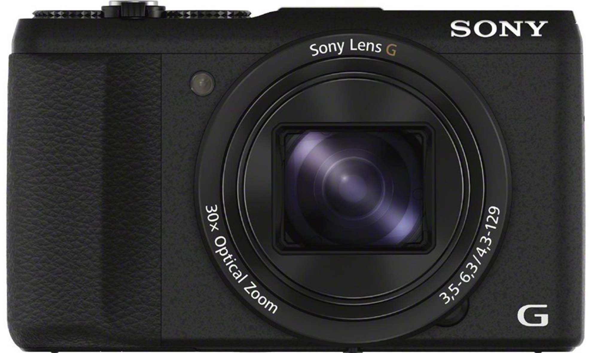DSC-HX60B фотоаппарат Sony Cyber-Shot, черный