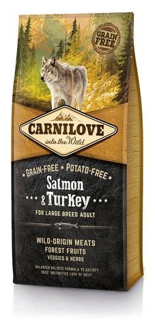 Brit Carnilove Salmon & Turkey Large Breed Adult