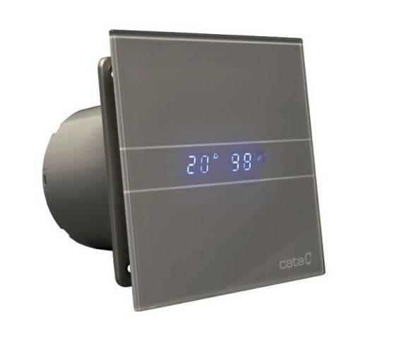 Накладные вентиляторы CATA серия G Накладной вентилятор Cata E 100 GSTH Silver (Влажность, таймер, термометр, дисплей) + обратный клапан 6f7b36affa4a268120fbdcdae4e12673.jpg
