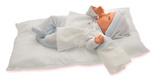 Antonio Juan. Младенец Ману в голубом, со звуком, 29 см