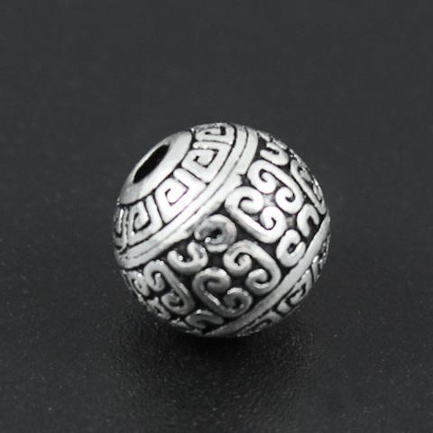 Бусина Палермо 10 мм серебро 925