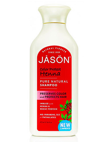 Шампунь защита цвета с экстрактом хны, Jason