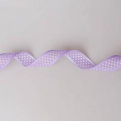 Лента в горох 18 м., фиолетовая 313019-4