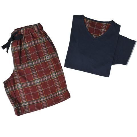 Домашний костюм с шортами и футболкой William от Casual Avenue