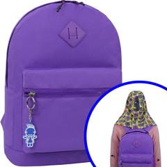 Рюкзак Bagland Hood W/R 17 л. фиолетовый 469 (0054466)