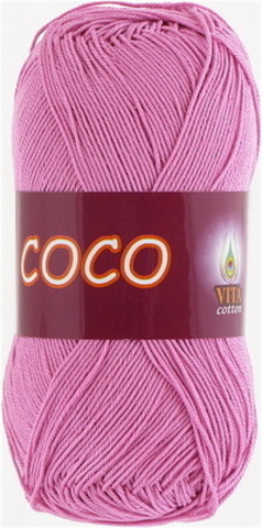 Пряжа Coco (Vita cotton) 4304 Светлый цикламен