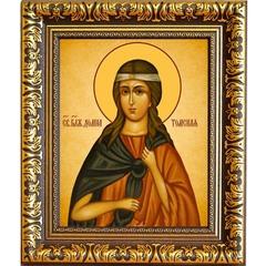 Домна Томская блаженная, Христа ради юродивая. Икона на холсте.