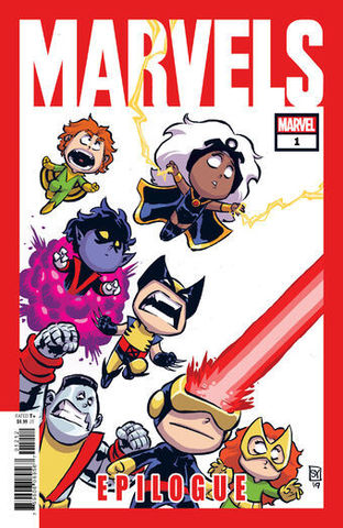 Marvels Epilogue (Variant Cover by Skottie Young)