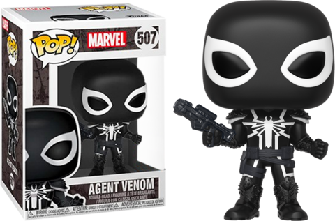 Фигурка Funko Pop! Marvel: Agent Venom (Excl. to Pop in a Box)