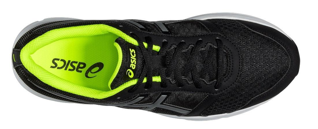 Беговая обувь начального уровня для мужчин Asics Patriot 8 (Асикс патриот) черные  фото