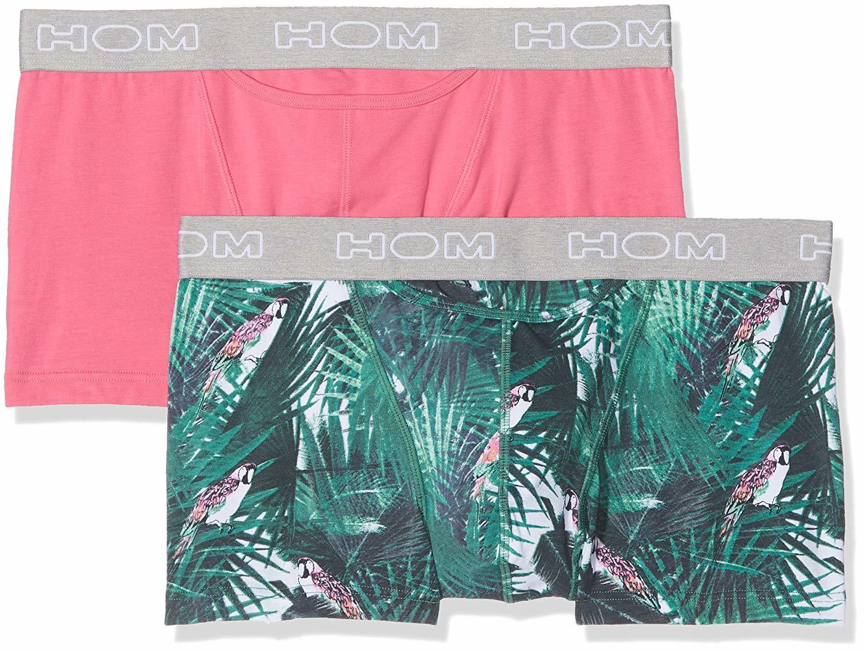 Aloha 2-Pack HOM HO1 Men/'s Boxerlines Boxer Brief Short Trunk