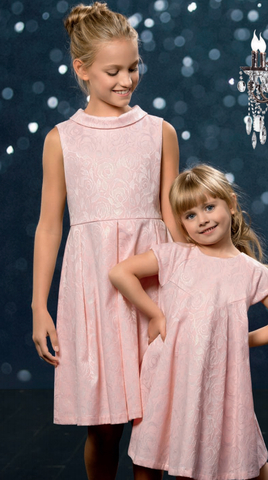 Pelican GWDV4041 Платье для девочек нарядное розовое