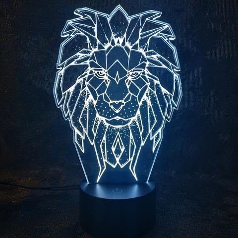 Светильник Царь зверей - Лев