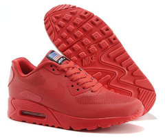 Кроссовки Женские Nike Air Max 90 HyperFuse Independence Day Red