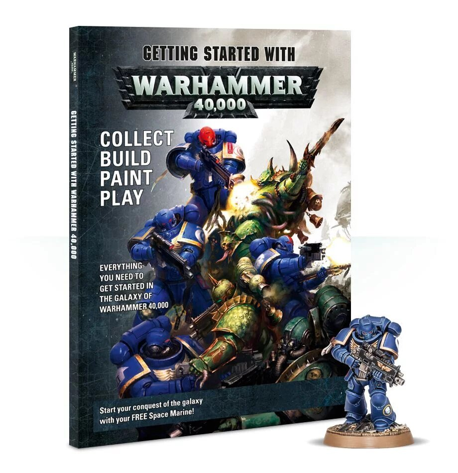 Getting started with Warhammer 40 000