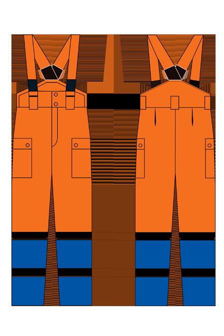 Выкройка костюма метеор технический рисунок полукомбинезон