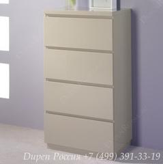 Комод вертикальный DUPEN (Дюпен) S-111 Мока