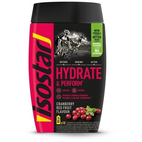 Изотоник Isostar Hydrate Perform 400г клюква