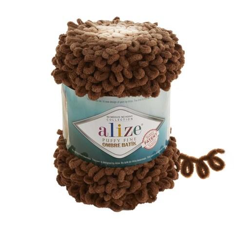 Купить Пряжа Ализе Пуффи Файн Омбре Батик - цвет 7262 | Интернет-магазин пряжи «Пряха»