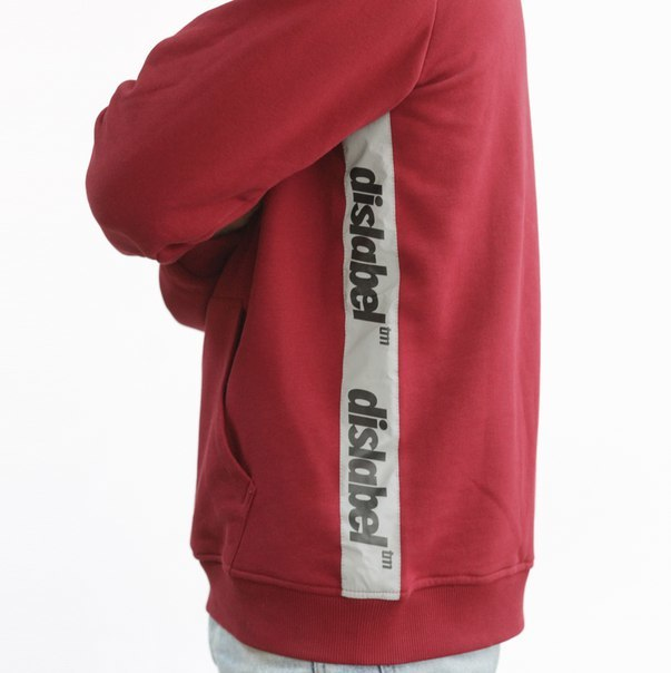 Худи DISLABEL TM REFLECTIVE RED