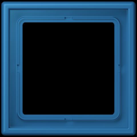 Рамка на 1 пост. Цвет Bleu céruléen 31. JUNG Les Couleurs® Le Corbusier. LC98132030