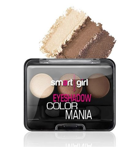 BelorDesign Smart Girl Тени для век 3-х цветные Color Mania тон 36
