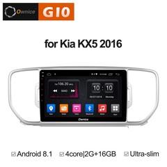 Штатная магнитола на Android 8.1 для KIA Sportage 4 16+ Ownice G10 S9733E