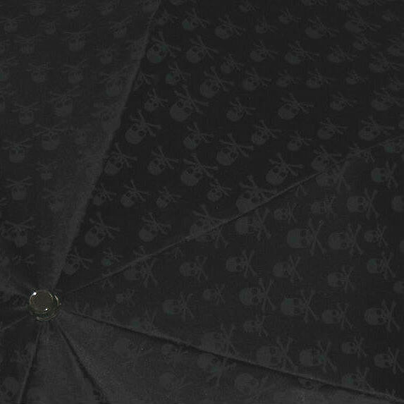 Зонт складной Pasotti-64 PNT W33- Silver Skull