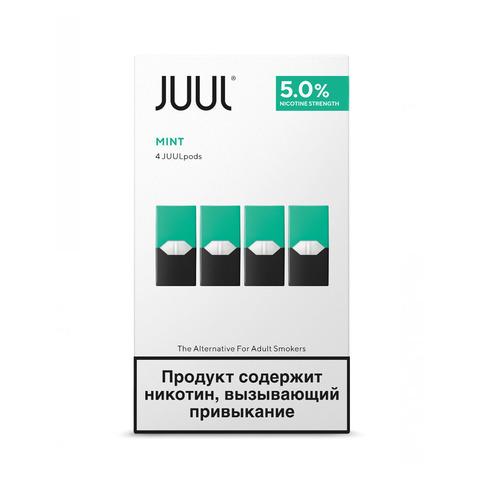 Картриджи JUUL Мята 5% 4 шт