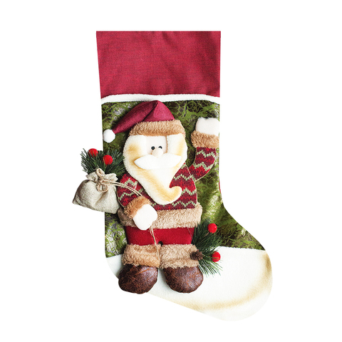 Носок для подарков Santa