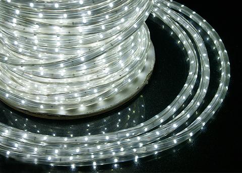 Дюралайт белый LED цвет шланг бухта