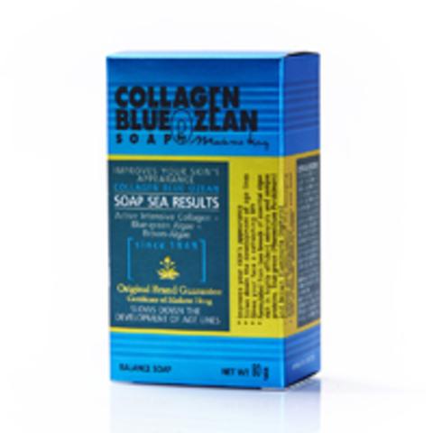 Мыло с коллагеном Madame Heng Collagen Blue Ozean Soap, 80 гр.