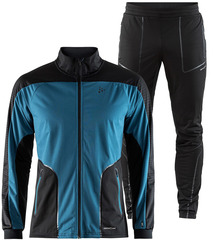 Элитный лыжный костюм Craft Sharp XC Blue-Black мужской