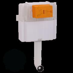Бачок скрытого монтажа для приставного унитаза Migliore Expert Bac (без панели и ручки) H405xL440xP150 mm