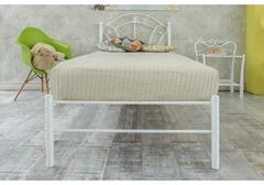Кровать Паула (Paula 200x90) белая