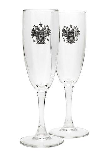 Бокалы под шампанское «Держава».