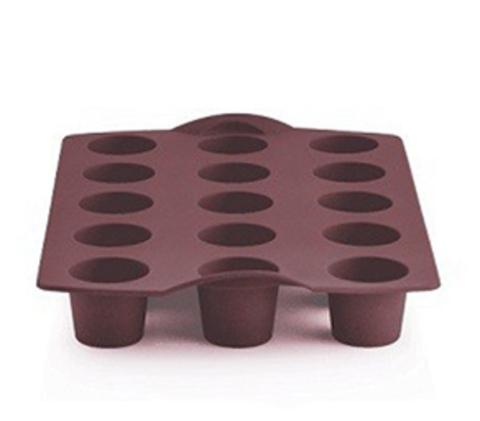 Силиконовая форма для мини-кексов