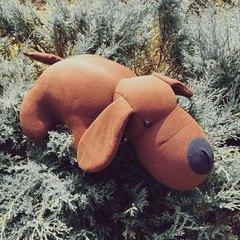 Подушка-игрушка антистресс «Мохнатый Патрик Коричневый» 5